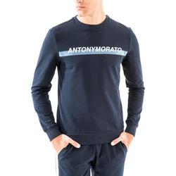Ruhák Férfi Pulóverek Antony Morato MMFL00454 FA150048 Kék