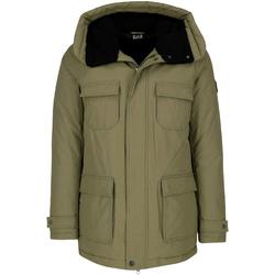 Ruhák Férfi Parka kabátok Ea7 Emporio Armani 6ZPK05 PNN5Z Zöld