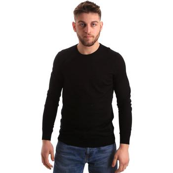 Ruhák Férfi Pulóverek Gaudi 821FU53080 Fekete