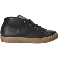 Cipők Férfi Divat edzőcipők Exton 481 Fekete