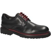 Cipők Férfi Oxford cipők Exton 940 Fekete