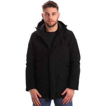 Ruhák Férfi Parka kabátok U.S Polo Assn. 50348 51919 Fekete