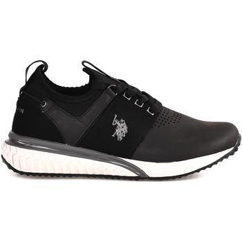 Cipők Férfi Rövid szárú edzőcipők U.S Polo Assn. FELIX4048S8/YT1 Fekete