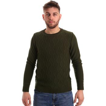 Ruhák Férfi Pulóverek Bradano 155 Zöld