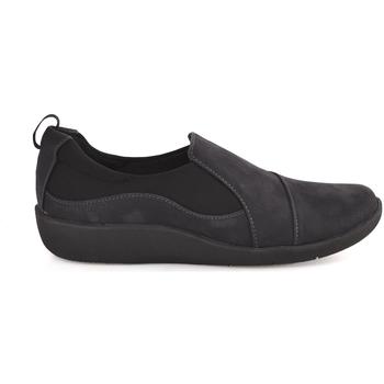Cipők Férfi Belebújós cipők Clarks 122187 Kék
