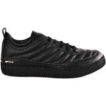 Cipők Férfi Rövid szárú edzőcipők Gas GAM824040 Fekete