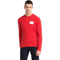 Ruhák Férfi Pulóverek Calvin Klein Jeans J30J307800 Piros