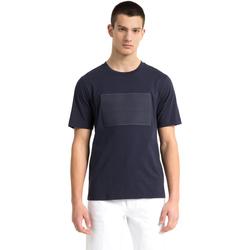 Ruhák Férfi Rövid ujjú pólók Calvin Klein Jeans J30J307868 Kék
