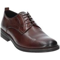 Cipők Férfi Oxford cipők Exton 9553 Barna