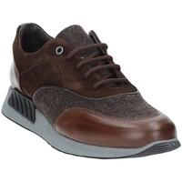 Cipők Férfi Rövid szárú edzőcipők Exton 161 Barna
