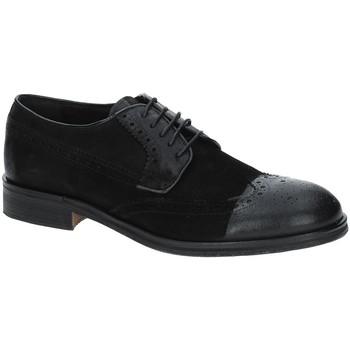 Cipők Férfi Oxford cipők Exton 5356 Fekete