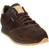 Cipők Férfi Rövid szárú edzőcipők Exton 777 Barna