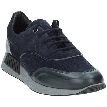 Cipők Férfi Rövid szárú edzőcipők Exton 161 Kék