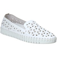 Cipők Női Gyékény talpú cipők Susimoda 4841-02 Fehér
