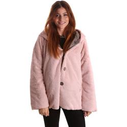 Ruhák Női Parka kabátok Byblos Blu 689104 Rózsaszín
