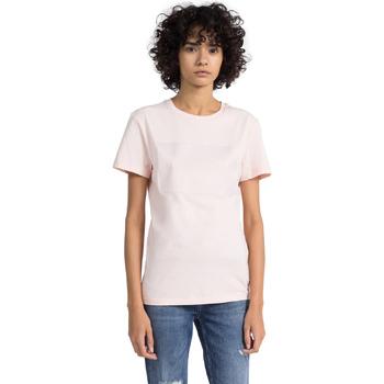 Ruhák Női Rövid ujjú pólók Calvin Klein Jeans J20J207949 Rózsaszín