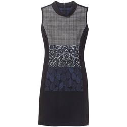 Ruhák Női Rövid ruhák Desigual 18WWVW21 Kék