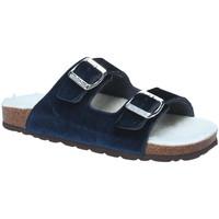 Cipők Női Papucsok Grunland CB1679 Kék
