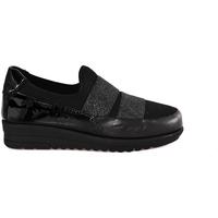 Cipők Női Mokkaszínek Grunland SC3978 Fekete