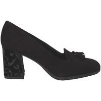 Cipők Női Mokkaszínek Grunland SC4072 Fekete