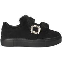 Cipők Női Belebújós cipők Grunland SC4007 Fekete