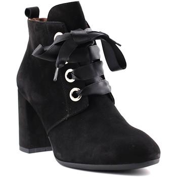 Cipők Női Bokacsizmák NeroGiardini A806923DE Fekete