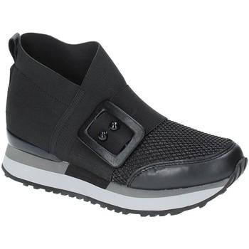 Cipők Női Magas szárú edzőcipők Apepazza RSD19 Fekete