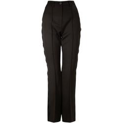 Ruhák Női Chino nadrágok / Carrot nadrágok Denny Rose 821DD20001 Fekete