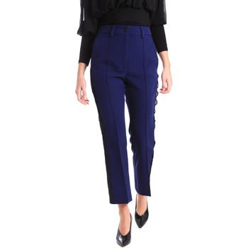 Ruhák Női Chino nadrágok / Carrot nadrágok Denny Rose 821DD20001 Kék