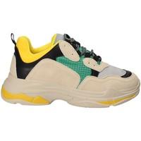 Cipők Női Rövid szárú edzőcipők Gold&gold B18 GT530 Sárga