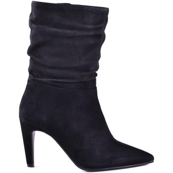 Cipők Női Bokacsizmák Elvio Zanon I2902X.ELZCAMNERO Fekete