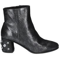 Cipők Női Bokacsizmák Elvio Zanon I5503G.ELZMPHANTRA Fekete