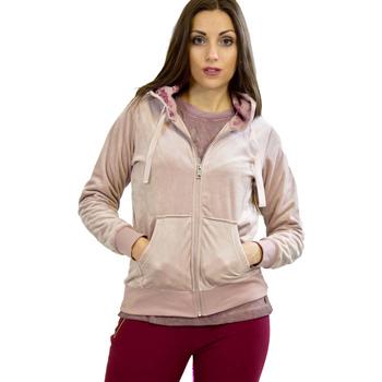 Ruhák Női Pulóverek Key Up 5CS57 0001 Rózsaszín