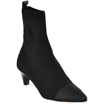 Cipők Női Bokacsizmák Carmens Padova A42395 Fekete