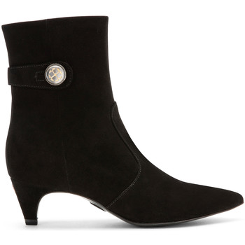 Cipők Női Bokacsizmák Carmens Padova A42191 Fekete
