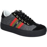Cipők Női Rövid szárú edzőcipők Roberta Di Camerino RDC82140 Fekete