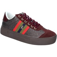 Cipők Női Rövid szárú edzőcipők Roberta Di Camerino RDC82140 Piros