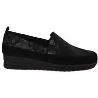 Cipők Női Mokkaszínek Grunland SC3980 Fekete