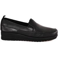 Cipők Női Mokkaszínek Grunland SC3985 Fekete