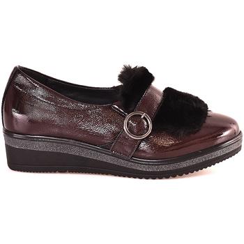 Cipők Női Mokkaszínek Grunland SC3148 Piros