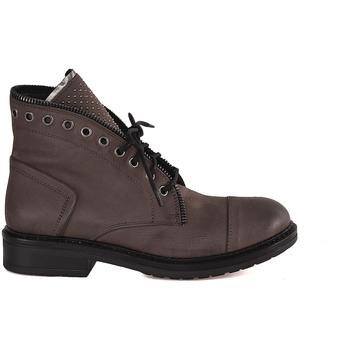 Cipők Női Csizmák Mally 5037 Barna