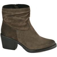 Cipők Női Bokacsizmák Mally 5341 Zöld