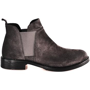 Cipők Női Bokacsizmák Mally 5948 Szürke