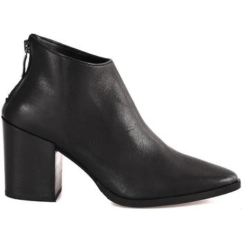 Cipők Női Bokacsizmák Mally 6341 Fekete