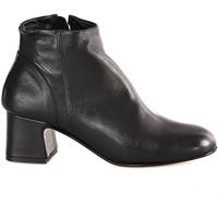 Cipők Női Bokacsizmák Mally 6357 Fekete