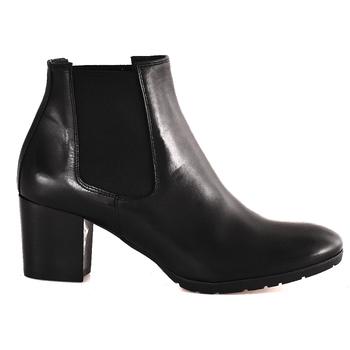 Cipők Női Bokacsizmák Mally 6418 Fekete