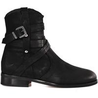 Cipők Női Bokacsizmák Mally 6431 Fekete