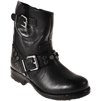 Cipők Női Bokacsizmák Lumberjack SW53001 002 Q12 Fekete