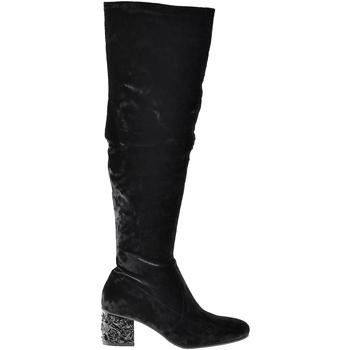 Cipők Női Városi csizmák Elvio Zanon I1903B Fekete