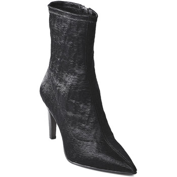 Cipők Női Bokacsizmák Elvio Zanon I2906X Fekete
